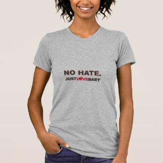 Ningún odio camiseta