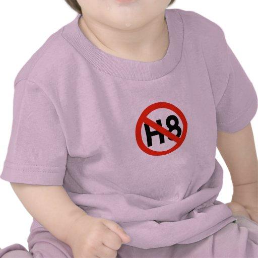 Ningún odio (H8) Camiseta