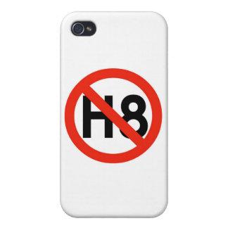 Ningún odio H8 iPhone 4 Carcasa
