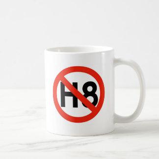 Ningún odio (H8) Taza Clásica