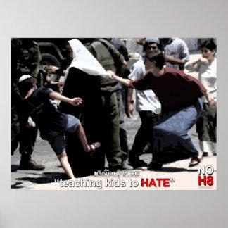 Ningún odio. La ignorancia es estúpida Póster