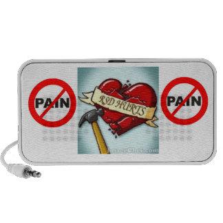 Ningún Pain/RSD daña el altavoz