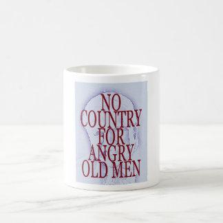 Ningún país para los viejos hombres enojados - taz tazas