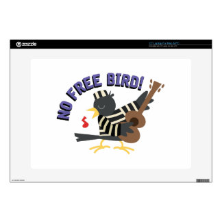 Ningún pájaro libre skins para 38,1cm portátil