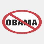 Ningún pegatina de Obama