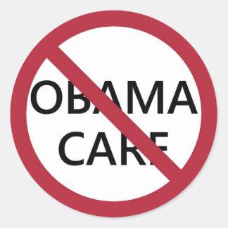 Ningún pegatina de Obamacare