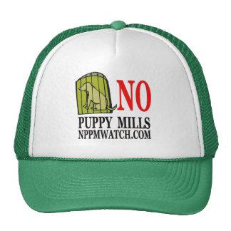 Ningún perrito muele el casquillo gorras de camionero