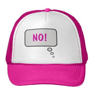 Ningún piense el gorra de la burbuja