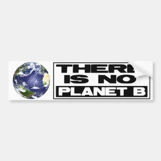 Ningún planeta B Etiqueta De Parachoque