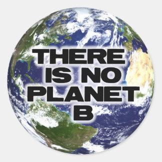 Ningún planeta B Etiquetas Redondas