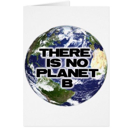 Ningún planeta B Tarjetón