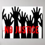 Ningún poster de la justicia