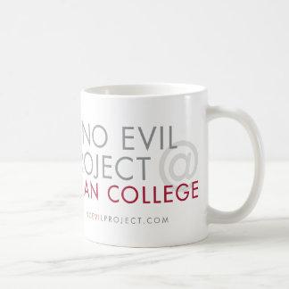 Ningún proyecto malvado en decano College Mug Taza Clásica