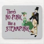 Ningún punk tiene gusto de un steampunk alfombrillas de raton