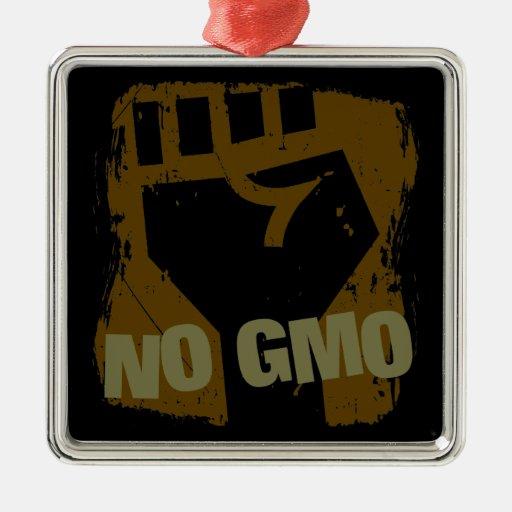NINGÚN puño de GMO Ornamento Para Arbol De Navidad