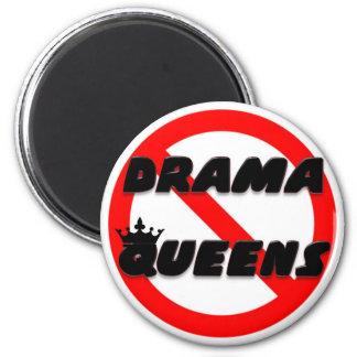 Ningún Queens del drama Imán Redondo 5 Cm