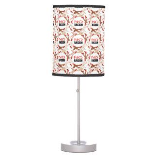 Ningún racismo lámpara de escritorio