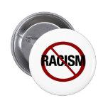 Ningún racismo pin
