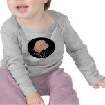 ¡Ningún regalo para usted! Ropa del bebé Camiseta