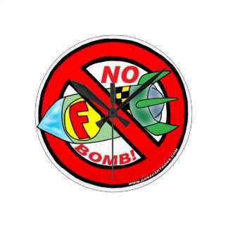 Ningún reloj de la F-Bomba