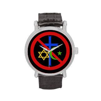 Ningún reloj de la religión