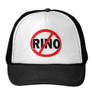 NINGÚN RINO - republicano/conservador/neocon/liber Gorros