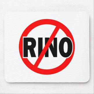 NINGÚN RINO - republicano/conservador/neocon/liber Alfombrillas De Ratones