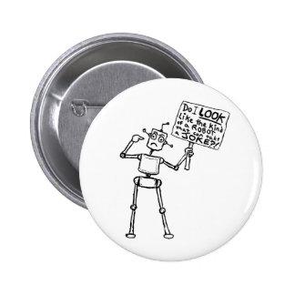 Ningún robot del chiste pin