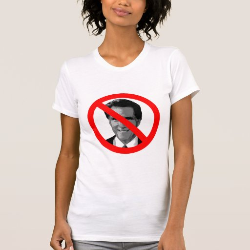 Ningún Romney Camisetas