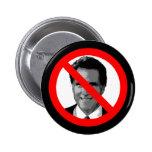 Ningún Romney Pin
