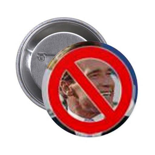 ¡Ningún Schwarzenegger! Pin Redondo De 2 Pulgadas