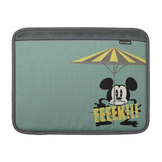 ¡Ningún servicio el | Mickey - Eeeek! Funda MacBook