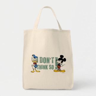 Ningún servicio el | Mickey y Donald Bolsa Tela Para La Compra
