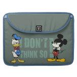 Ningún servicio el   Mickey y Donald Funda Para Macbook Pro