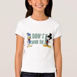 Ningún servicio el | Mickey y Donald Playera