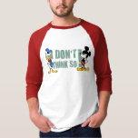 Ningún servicio el   Mickey y Donald Playera