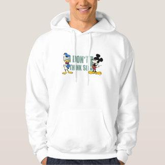 Ningún servicio el | Mickey y Donald Sudadera