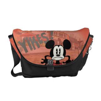 ¡Ningún servicio el | Mickey - Yikes! Bolsa De Mensajería