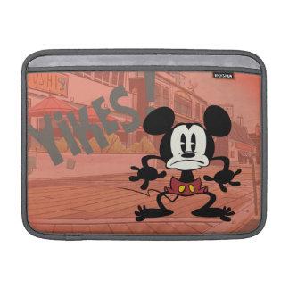 ¡Ningún servicio el | Mickey - Yikes! Fundas MacBook