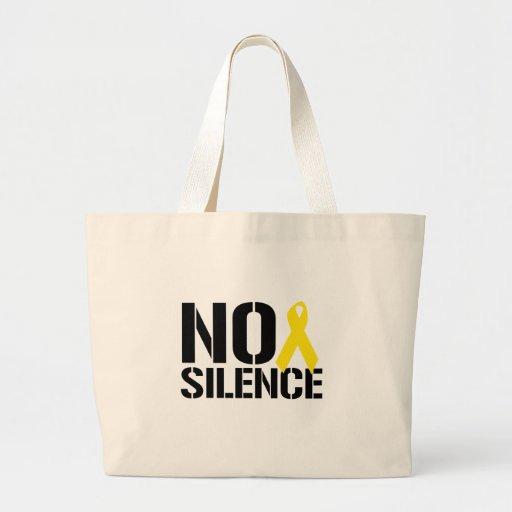 NINGÚN SILENCIO BOLSA DE MANO