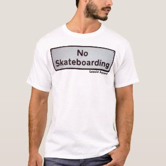 ningún skateboarding playera