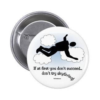 Ningún Skydiving Pins