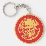 Ningún socialismo llaveros personalizados