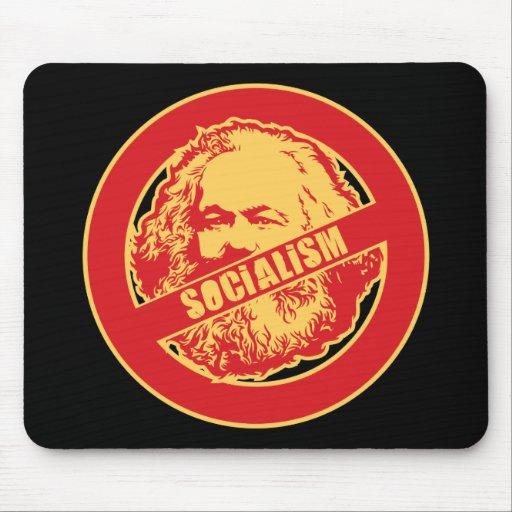 Ningún socialismo - modificado para requisitos par mousepad