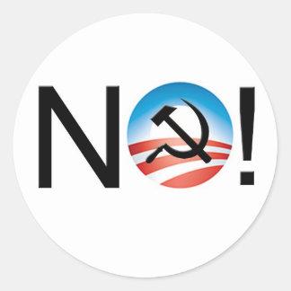 ¡NINGÚN socialismo! Pegatina