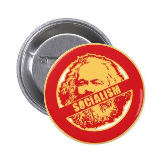 Ningún socialismo pins