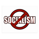 Ningún socialismo tarjetas postales