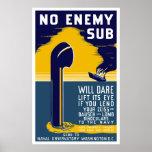 Ningún submarino enemigo se atreverá la elevación  impresiones