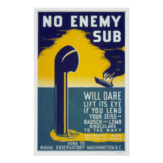 Ningún submarino enemigo - WPA Impresiones