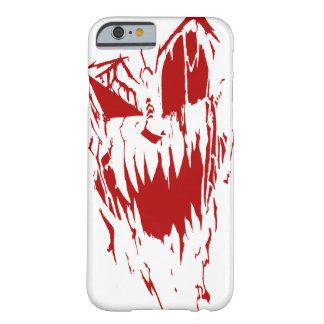 Ningún sueño - rojo en la caja blanca del iPhone 6 Funda De iPhone 6 Barely There